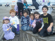 Some of the younger Epilepsy Walkers